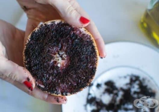 Придайте младежки вид на кожата с ексфолиант от кафе, зехтин и грейпфрут - изображение