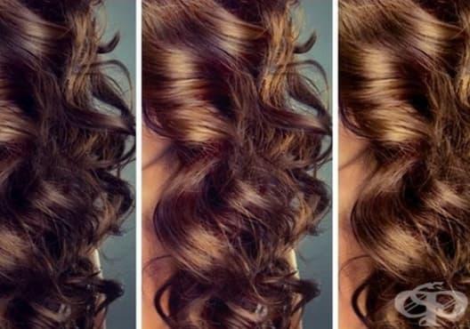 Придайте шоколадов нюанс на кестенявата коса с розмарин и градински чай - изображение