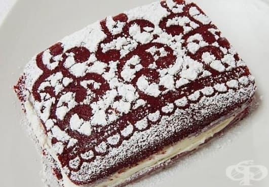 Използвайте дантела, за да декорирате любимия десерт - изображение