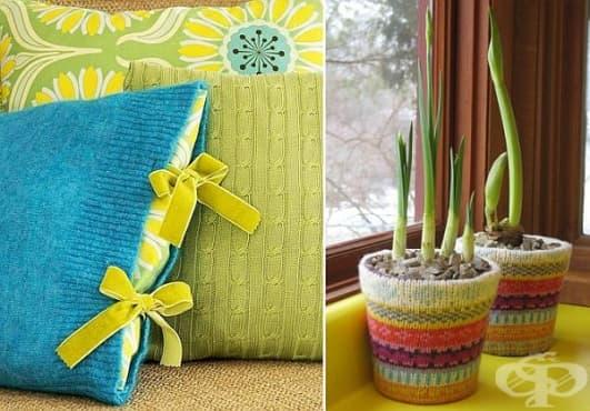 Рециклирайте старите пуловери по 3 практични начина - изображение