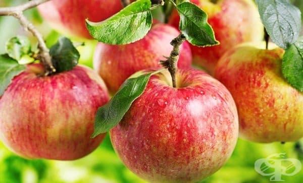 Елиминирайте лошия дъх на лук с ябълка - изображение