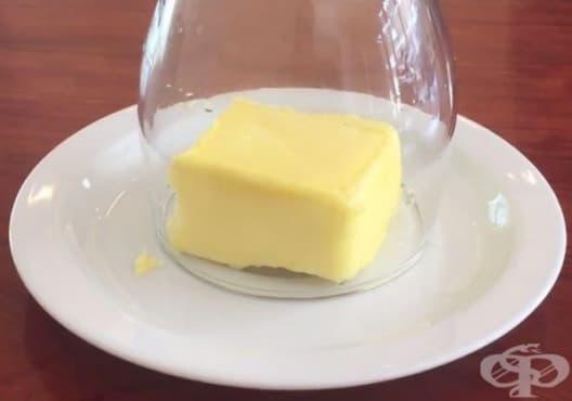 Разтопете маслото за броени секунди само с чаша за вино - изображение