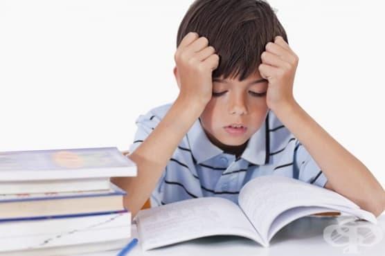 Разпознайте дислексията при детето по 7 признака - изображение