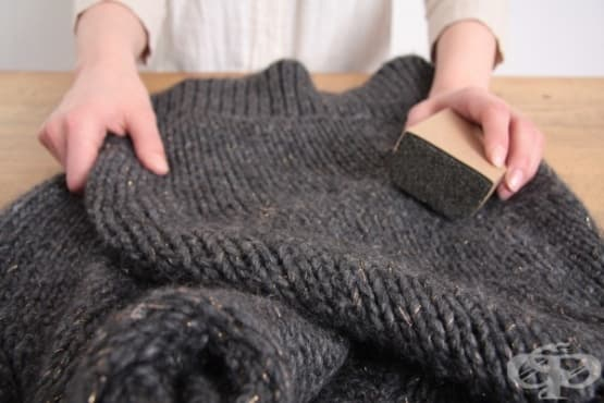 Спасете плетените дрехи от мъх и топчета по 5 начина - изображение