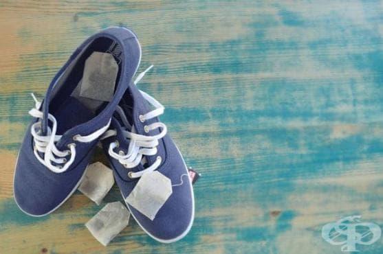 Сложете пакетче чай в миришещите обувки - изображение