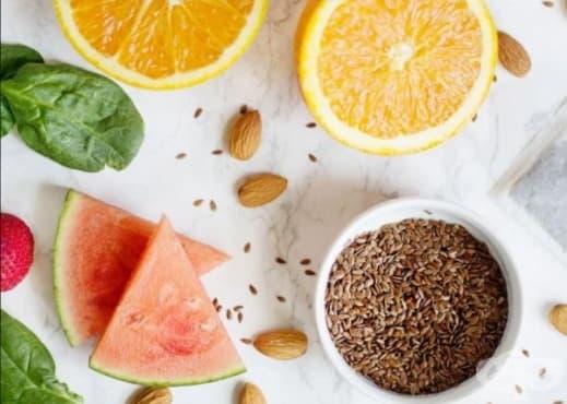 Пригответе си смути със слънцезащитно свойство от диня, ягоди, портокал, бадеми, зелен чай, ленено семе и спанак  - изображение