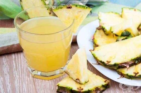 Облекчете подуването и дискомфорта в стомаха с ананас - изображение