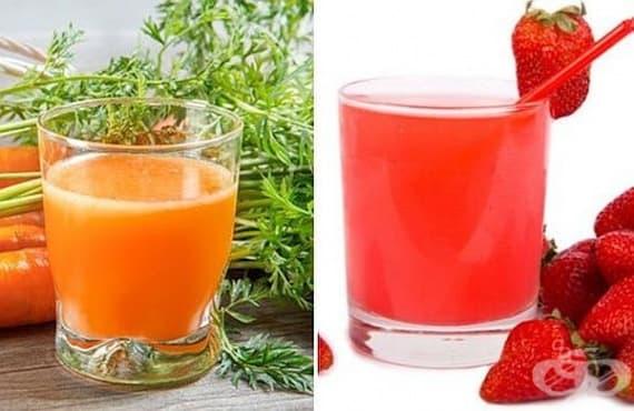 Насърчете растежа на косата със сок от моркови или ягоди - изображение