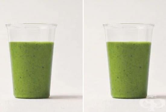 Пригответе си напитка срещу умора в мускулите от спанак, грозде  и кокосово мляко - изображение