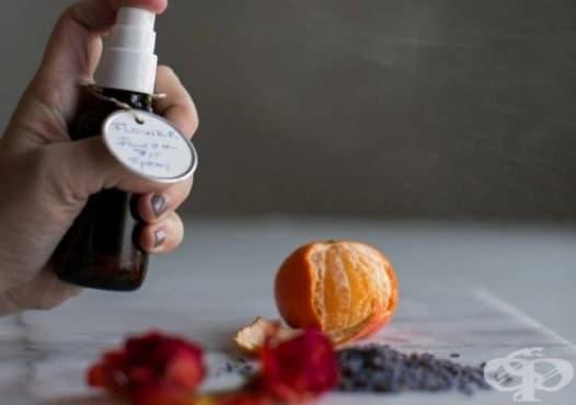 Направете си домашен дезодорант с аромат на жасмин, роза, лавандула и портокал - изображение
