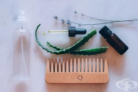 Предотвратете цъфтящите краища на косата с маска от жожоба, глицерин и алое - изображение