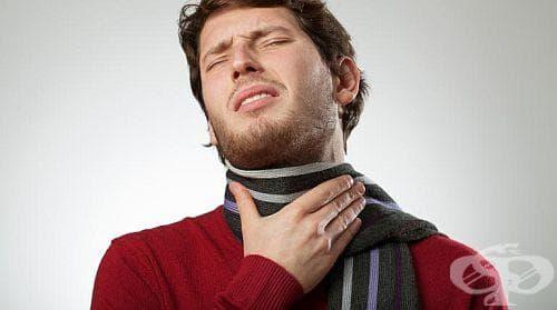 Срещу кашлица и зачервено гърло ще ви помогне компрес с извара - изображение
