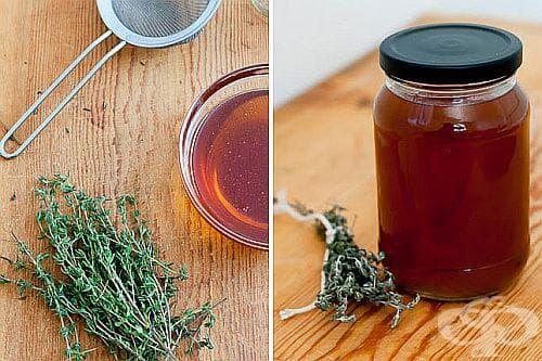 Стопирайте грипа и настинката със сироп от мед, мащерка и джинджифил - изображение