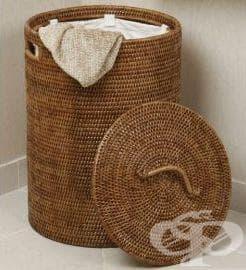 Съхранявайте прането в проветрив съд, за да не се овлажнява - изображение