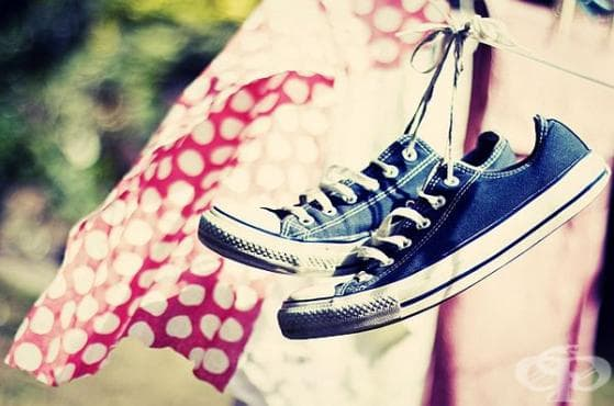 Сушете мокрите обувки закачени и на температура до 30 градуса - изображение
