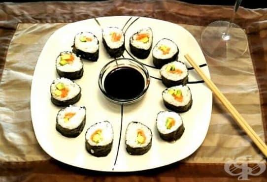 3 здравни ползи от консумацията на суши - изображение