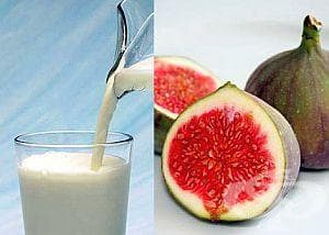 Сварете мляко със смокини срещу кашлица при децата - изображение