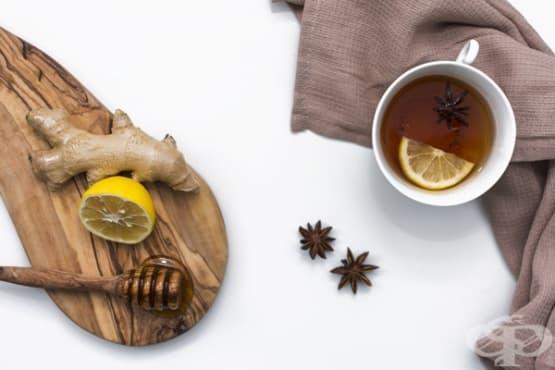 Подобрете вида на кожата с черен чай - изображение