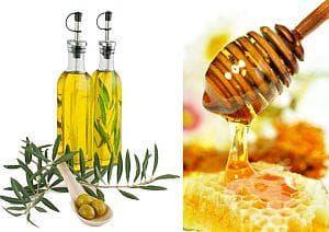 Топъл зехтин с мед лекува кашлицата при децата - изображение