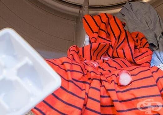 Изгладете дрехата бързо и ефикасно с този лесен трик - изображение