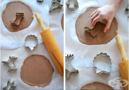 Украсете коледната елха с канелени бисквити - изображение