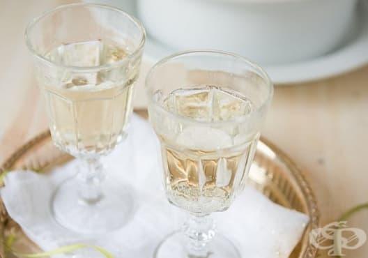 Придайте блясък на косата си с шампанско    - изображение