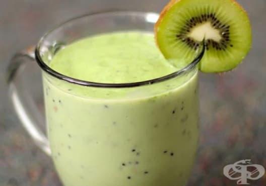 Възстановете бъбреците за седмица с напитка от киви, орехи и банан - изображение