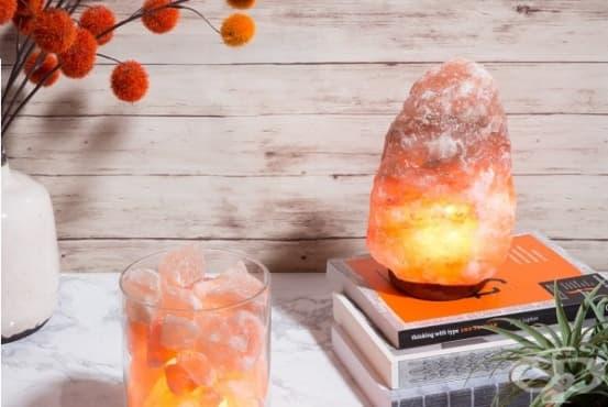 Използвайте лампа от хималайска сол при алергии и астма - изображение