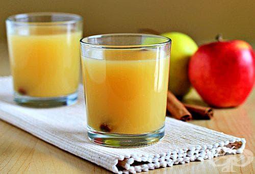 За бърз метаболизъм и нормализиране на кръвното пийте смес от ябълка и канела - изображение