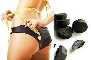 За детоксикация приложете диета за отслабване с активен въглен - изображение