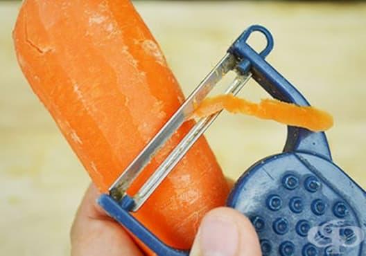 Заличете белезите по кожата с яйце, морков и авокадо - изображение