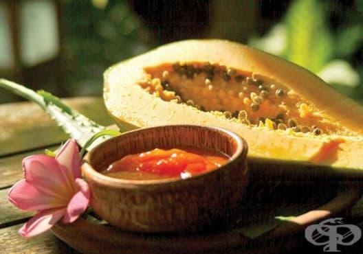 Заличете целулита с ексфолиант от папая и захар - изображение