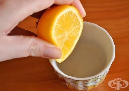 Заличете тъмните кръгове под очите с портокал и глицерин - изображение
