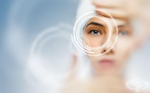Подобрете зрението си с праскови - изображение