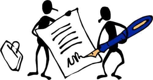 Видове трудови договори - изображение