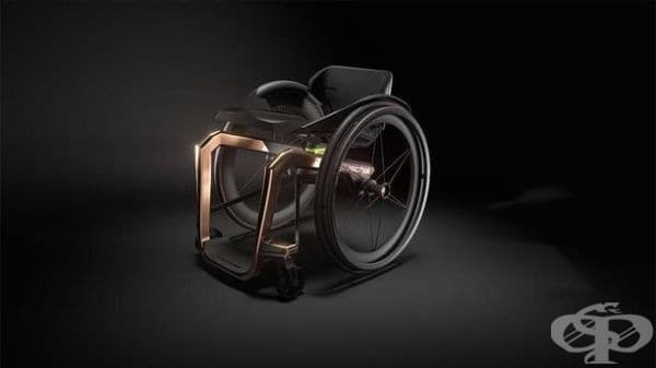 Формула 1 и компания Kuschall създават най-леката инвалидна количка - изображение