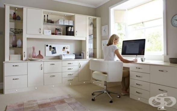Как да работим от вкъщи, ефективно погледнато  - изображение