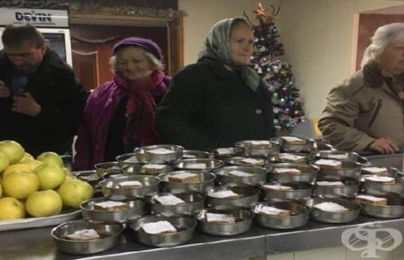 КНСБ ще продължи да осигурява обяд за 351 души и през 2019 г. - изображение