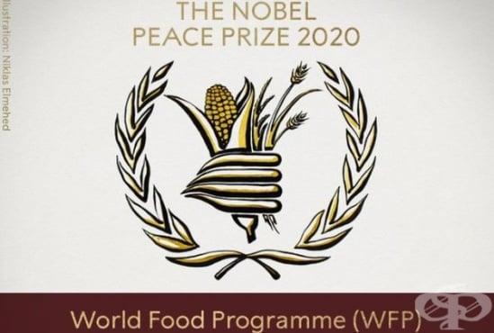 Световната програма по прехраната на ООН е носител на Нобел за мир за 2020 г. - изображение