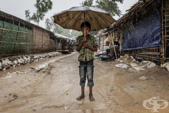 УНИЦЕФ:  Повече от половин милион деца живеят с риск за живота в лагерите в Бангладеш - изображение