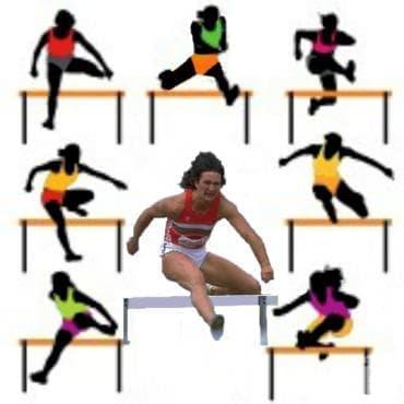 100 метра бягане с препятствия - изображение