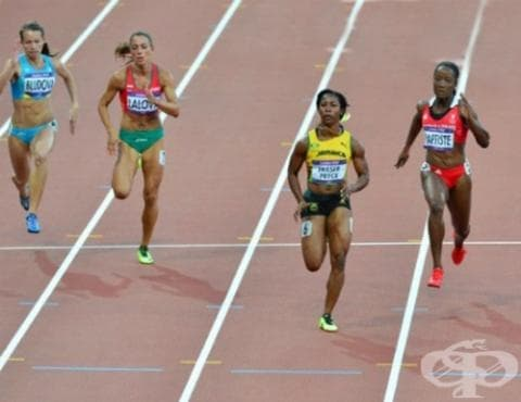 Спринт 100 метра - изображение