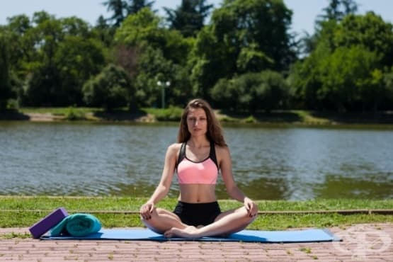 Лесни йога пози срещу менструални болки - изображение