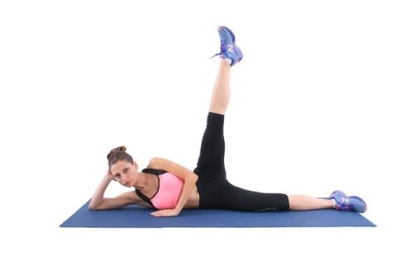 Тренировка за по-тънки крака за изморени хора - изображение