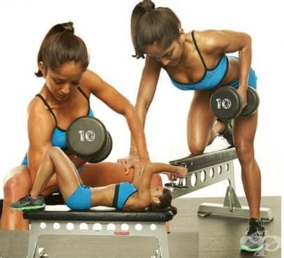 5-дневна тренировъчна програма за цялото тяло проектирана за жени - изображение