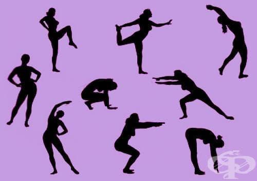 Видове аеробни упражнения - изображение