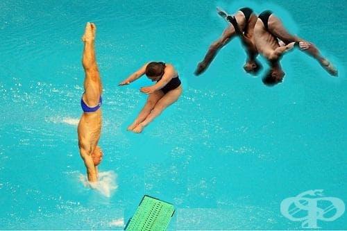 Скокове във вода - изображение