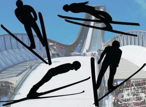 Ски скокове - изображение