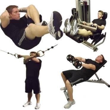 Четиридневна програма за стресиране на мускулите - изображение
