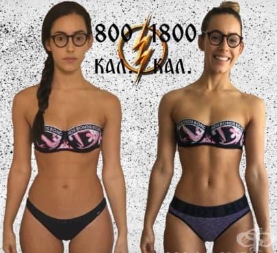 Доказателството, че голямото намаляване на калорийния прием няма да ви даде тялото, което желаете - изображение
